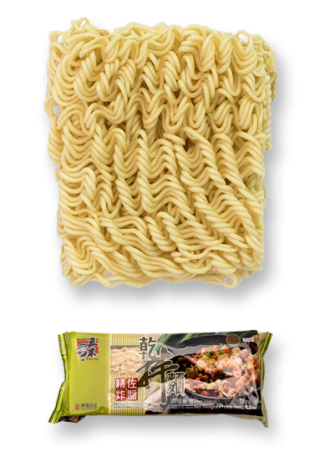 DRIED NOODLE with JAH JAN FLAVOR SAUCE