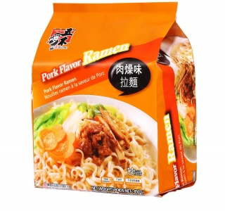 Artificial Pork Flavor Ramen