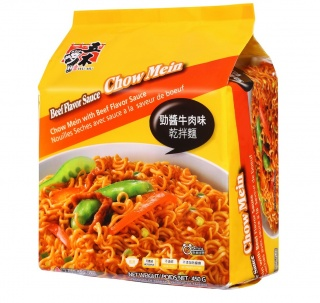 Chow Mein with Beef Flavor Sauce