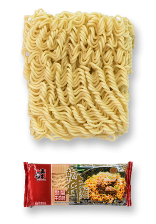 Dried Noodle with Beef Flavor Sauce
